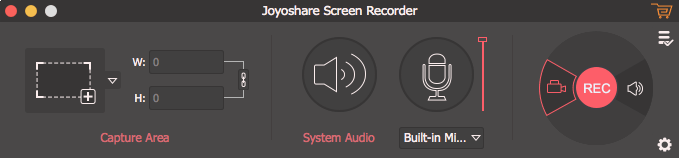 Joyoshare Screen Recorder UI Mac