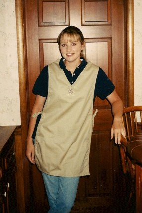 Me at 15, ready for work!
