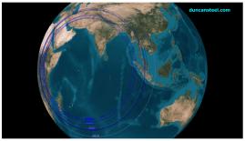 """Sources : www.duncansteel.com -""""Un immediate response to the Inmarsat information now release"""" (Duncan Steel, 2014 May 27)"""
