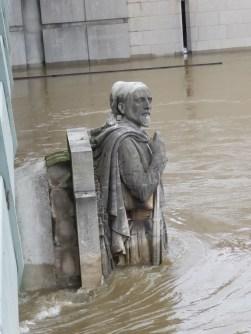 Crue de la Seine à 6m10