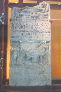 Another Ancient Roman artefact (displayed in a museum)