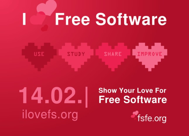 I Love Free Software