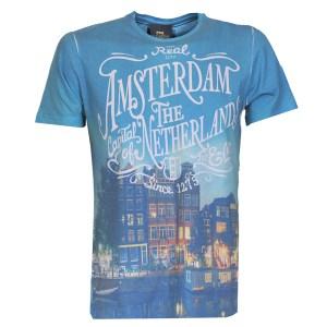 Amsterdam Canal Houses Design Shirt
