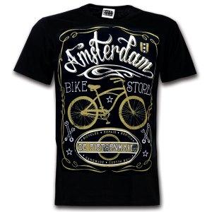 amsterdam bike t-shirt souvenir