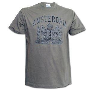Fox Souvenirs - Vintage Amsterdam Logo T-shirt