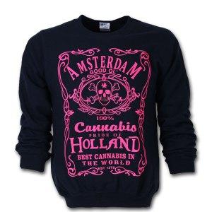Amsterdam Cannabis Jack Sweater