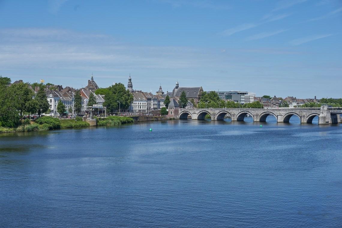 Maastricht city on the Maas