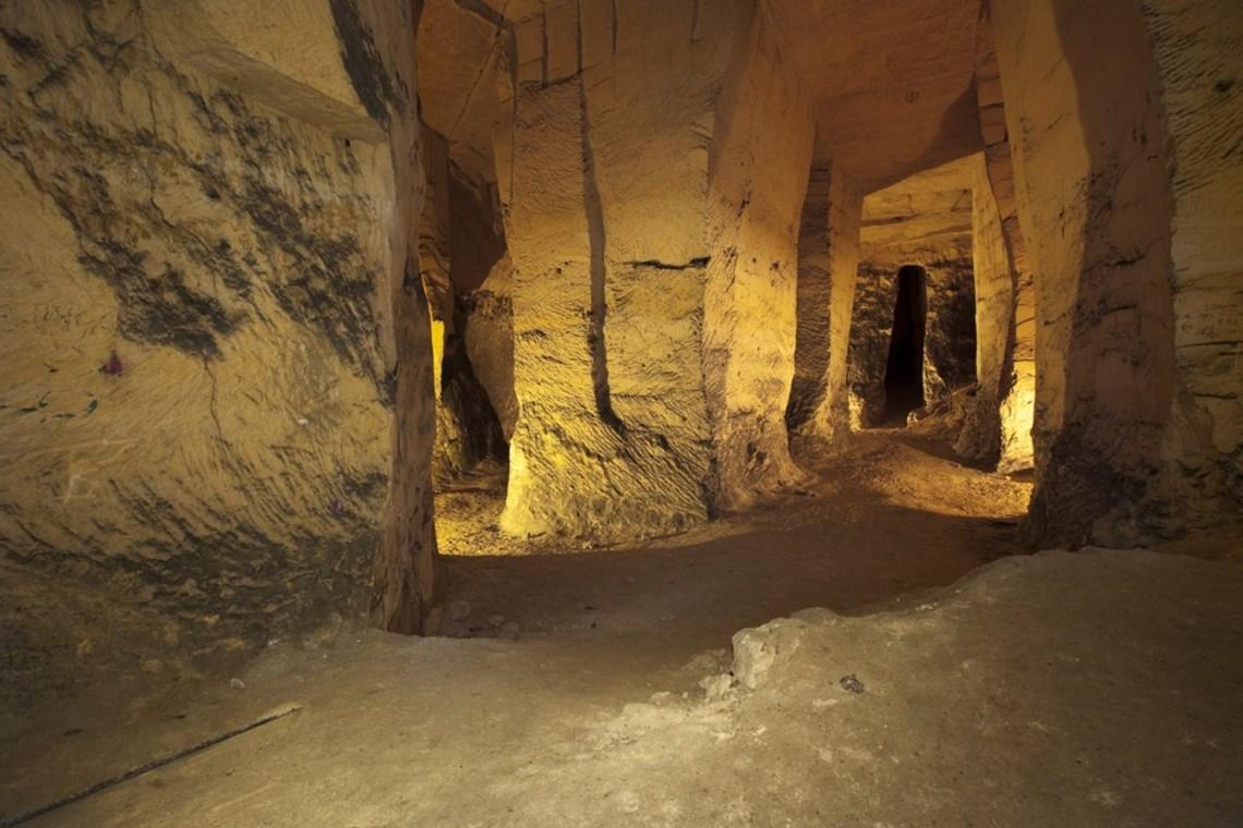 Marl caves near Maastricht