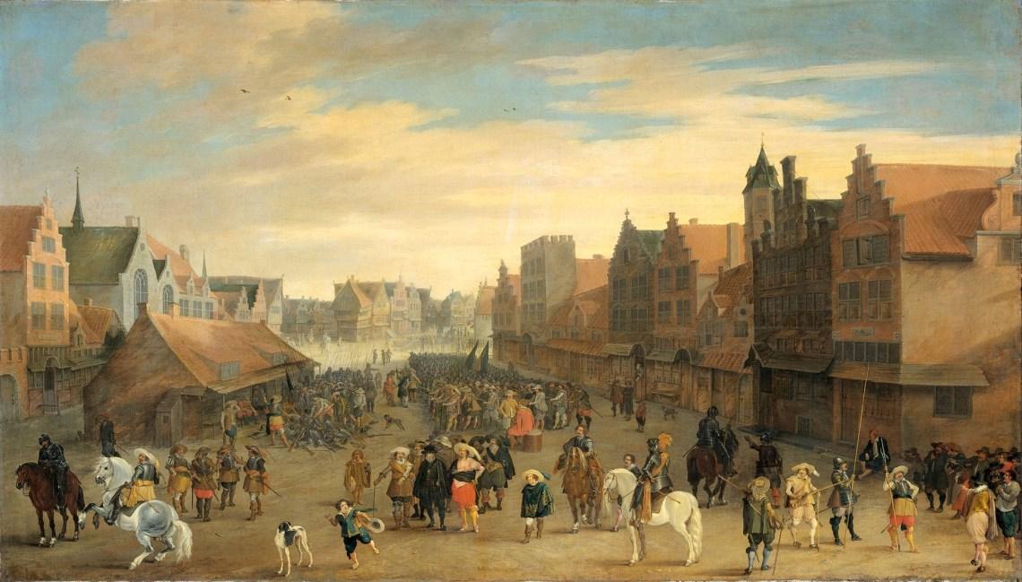 The Neude in Utrecht 31st July 1618