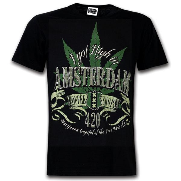 420 weed shirt Amsterdam