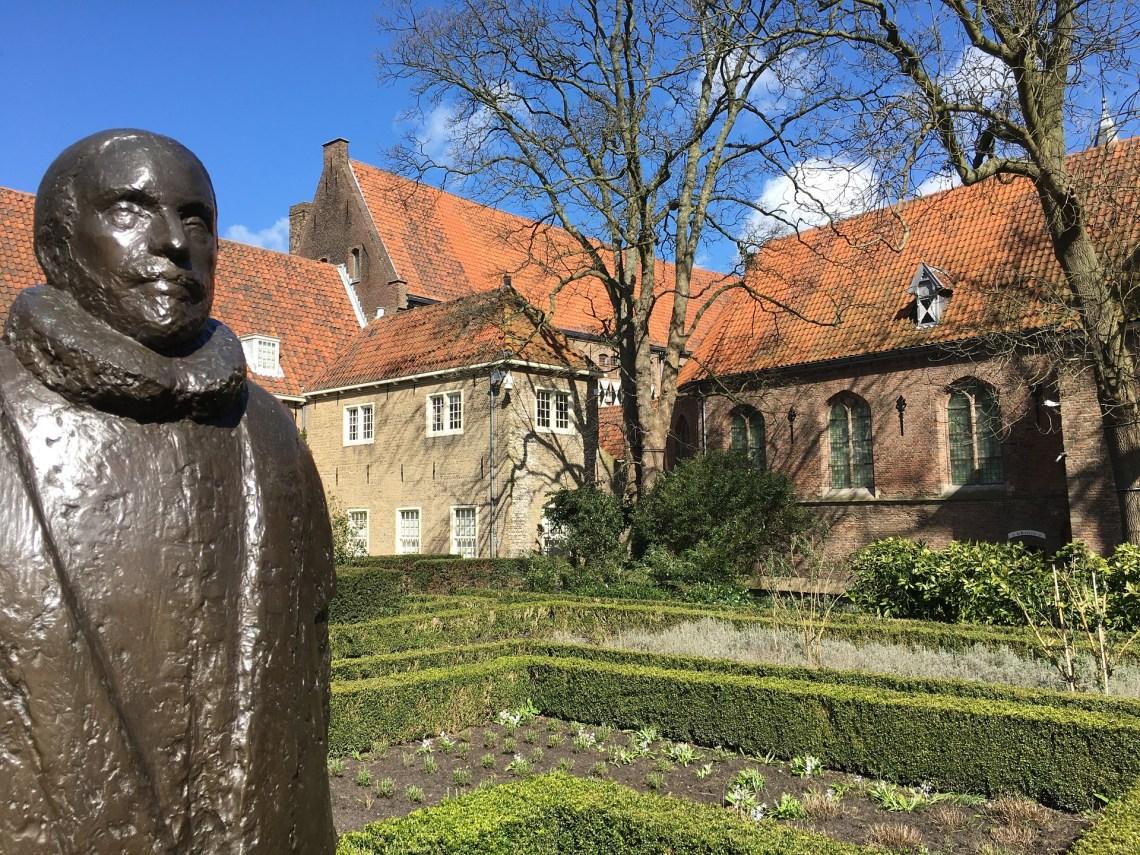Delft museum on the Prinsenhof