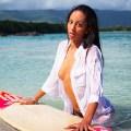 Экзотическая девушка с острова Маврикий. Фотограф Сергей Мысовский