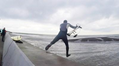 Ленинградские альбиносы в Сочи 2017. Серфинг и сноуборд