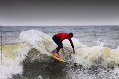 Победа на серфинг соревнованиях Bulli Surf Cup Калининград