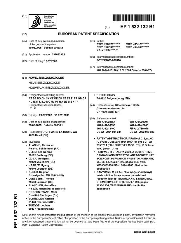 ep-1532132-b1-novel-benzodioxoles-issued-jpeg