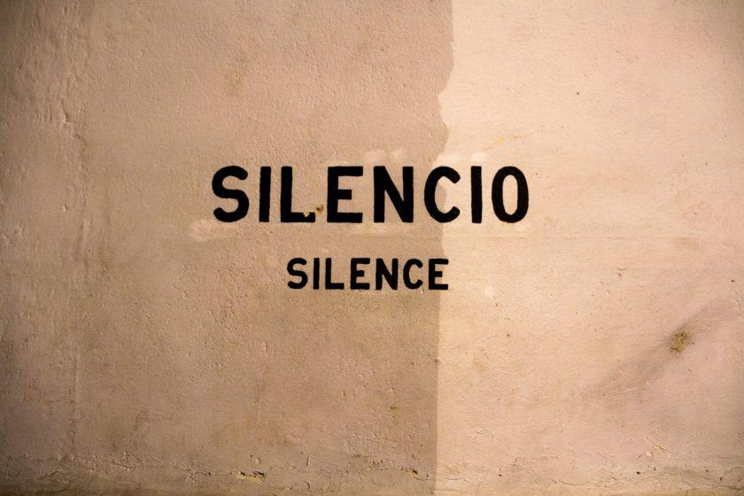 silence, stop, mental chatter, inner talk, inner critic,