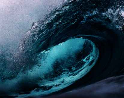 storm, sea, waves, boat analogy, spiritual journey, dark night of the soul