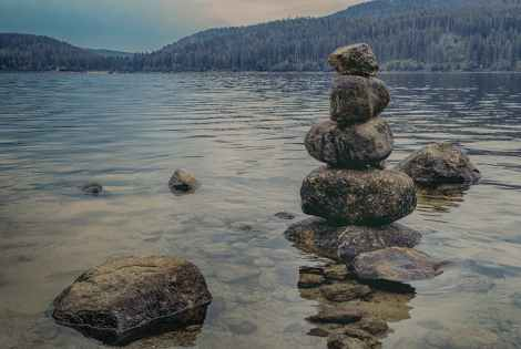 stack of stones, healing, spirituality