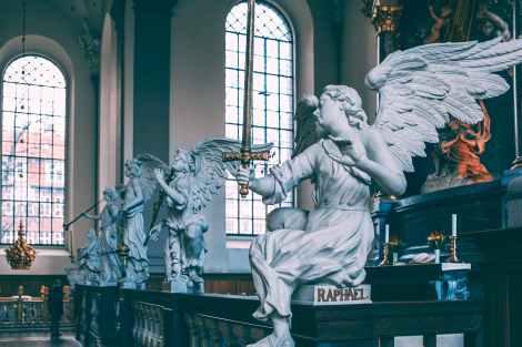archangels, angels, spirit guides, divine guidance, spirituality, christianity, spiritual interpretation of the gospels