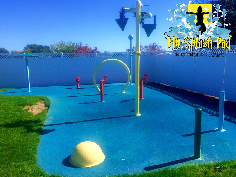 Shannopin Country Club Splashpad In Pittsburgh Pennsylvania Commercial Splash Pad Installer