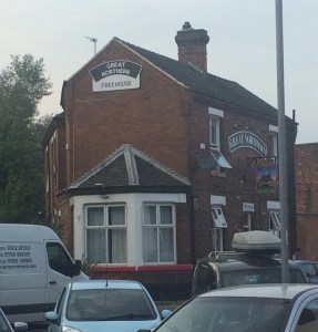 The Great Northern pub in Burton upon Trent