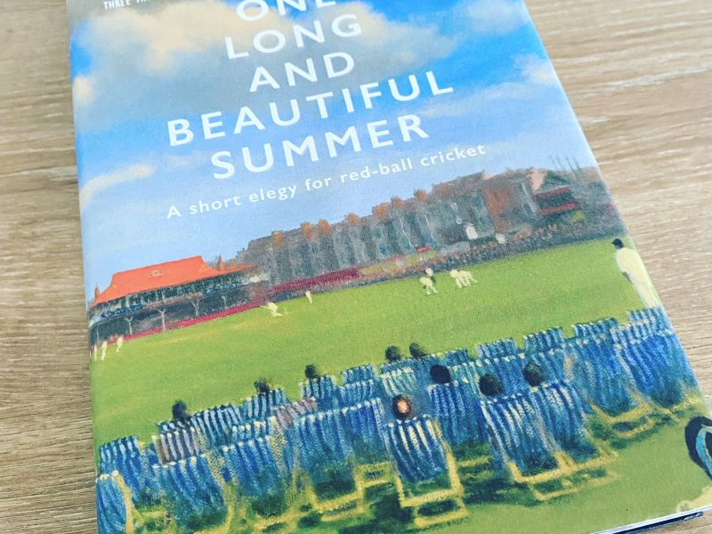 Duncan Hamilton's One Long and Beautiful Summer – does The Hundred signal the end of red ball cricket?