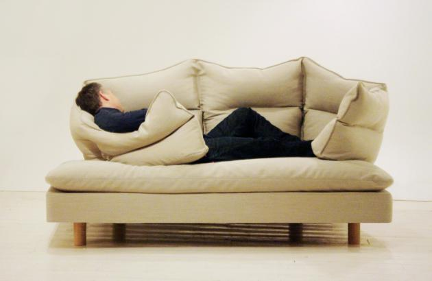 Buy the Most Comfortable Couch by Cuddly Home Advisors