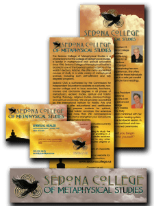 Layout and Design for Sedona College of Metaphysical Studies