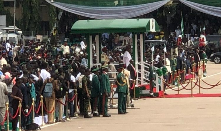 Live Video/Photos Of Democracy Day celebration From Eagle Square