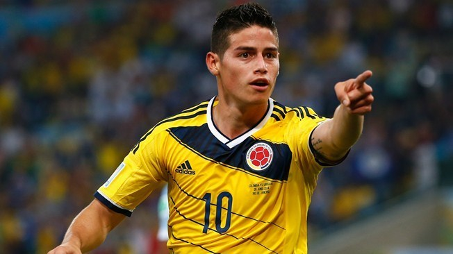 Manchester United wants James Rodriguez