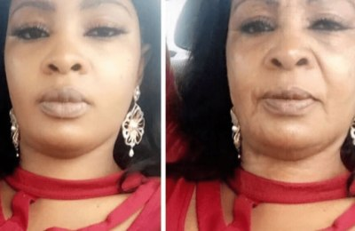 #FaceChallenge: How Bidemi Kosoko will look like in the next 20-year using #FaceApp
