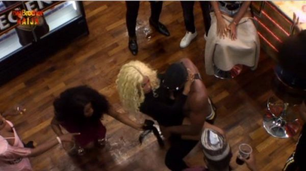 BBNaija 2019: Tuoyo And Mercy Thrill Saturday Night Party With Erotic Dance (Video)