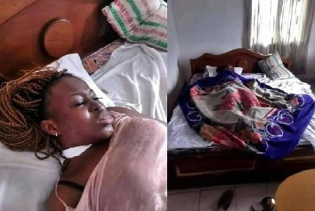 A young lady found Dead in a Hotel
