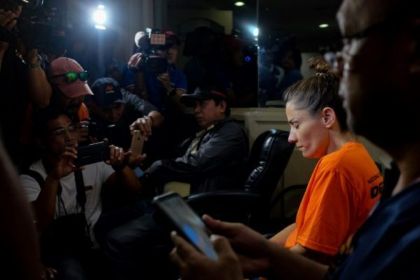 American woman arrested in Philippine