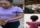 Drama as Fake Blind Woman Beggar Arrested With A Lot Of Money Inside Polythene Bag