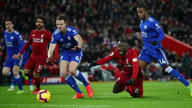 Liverpool vs Leicester Live Streaming