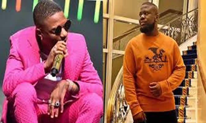 Wizkid And Hushpuppi Party Together In Dubai