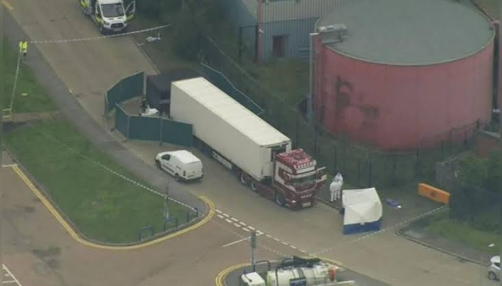 Identities of 39 bodies found in a truck container