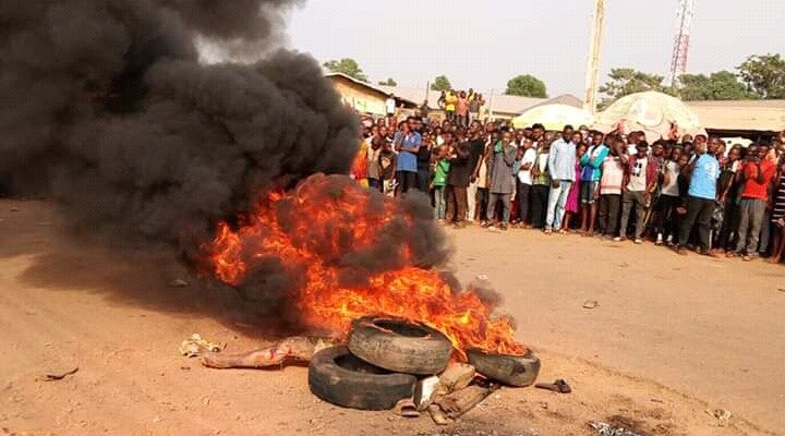 Young Girls Accused Of Witchcraft Set Ablaze