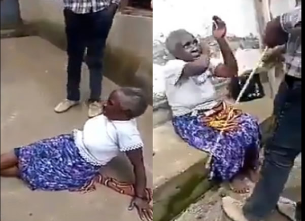Man Who Flogged His Age Grandmother