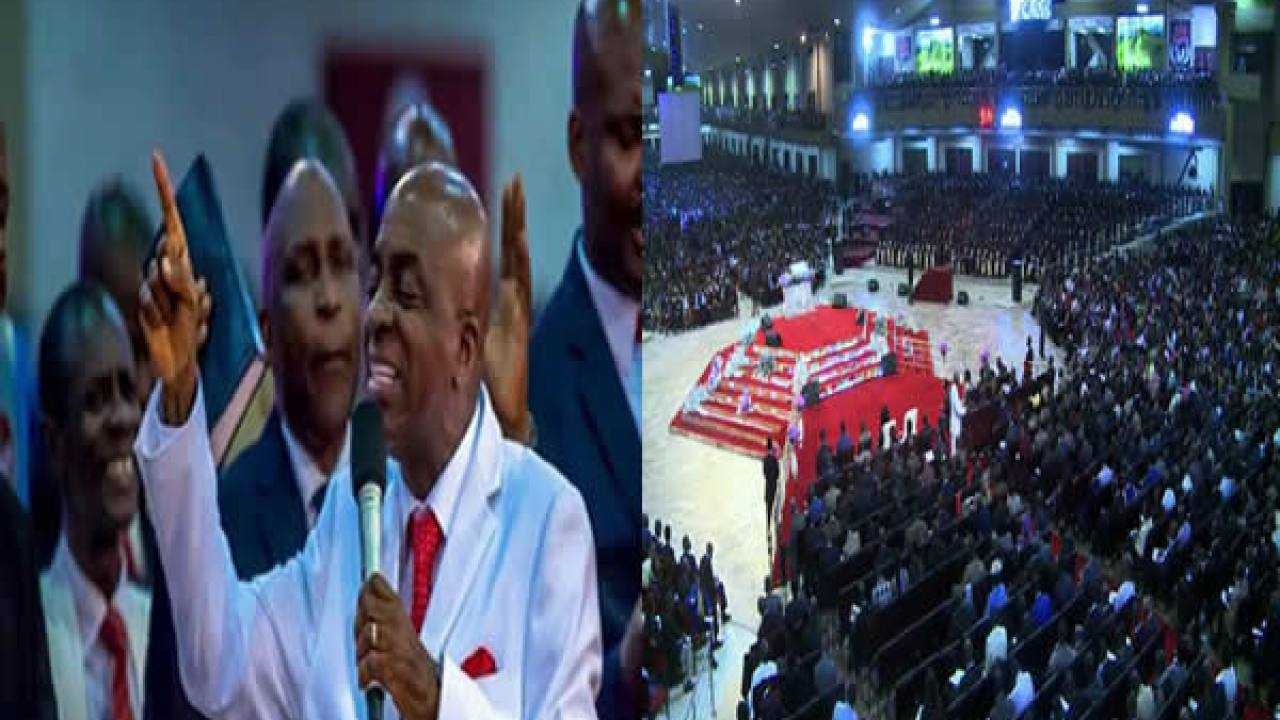 Image result for oyedepo church on  suday 22 march  2020