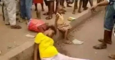 Untold Story Of A Dead Woman Who Was Dropped With Bundles One Thousand Naira Note In Port-Harcourt