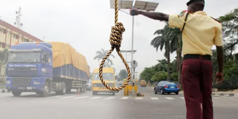 LASTMA Official Stabs Lover