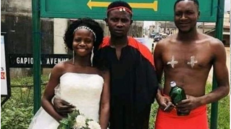 See photo of Edo couple court wedding that got people talking (photo)