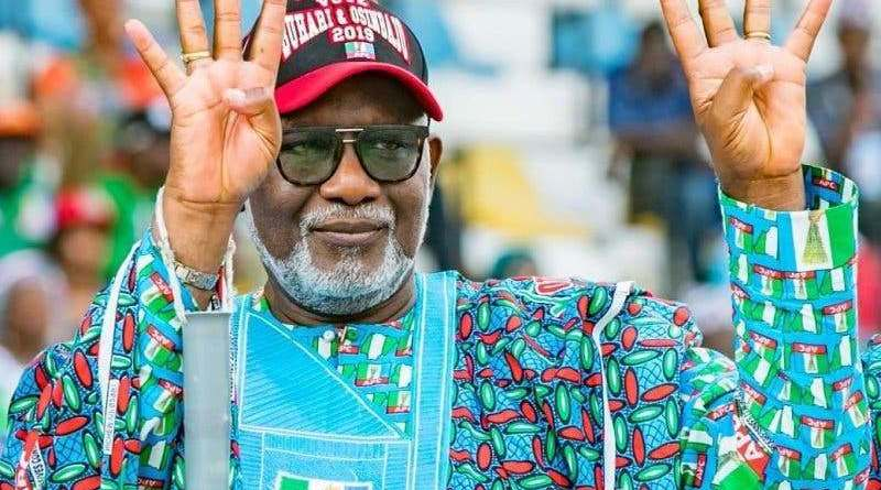 Akeredolu wins Ondo Governorship election, defeats Jegede with 99k votes
