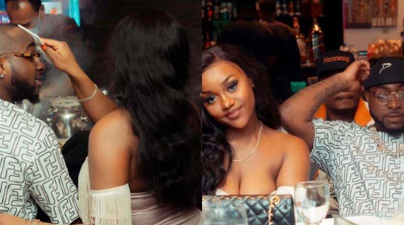 Davido's Girlfriend Chioma Sparks Pregnancy Rumors With New Photo
