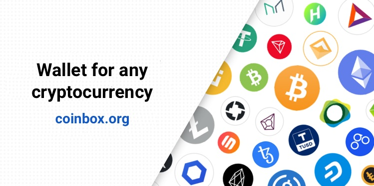 The Coinbox.org wallet has now integrated ETH, BNB, TRX, and EOS blockchains