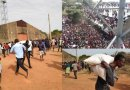 Massive Warehouse Full Of Covid-19 Palliatives Looted In Jos (Videos)
