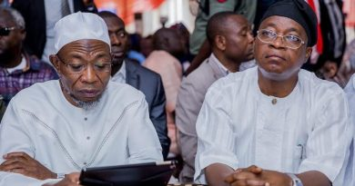 What Rift? Aregbesola Describes Oyetola As Worthy Successor