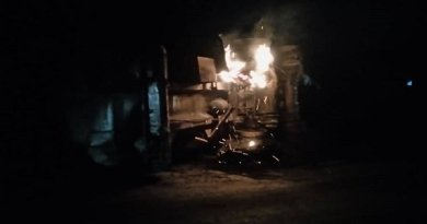 Shops, transformer razed in Anambra diesel tanker explosion